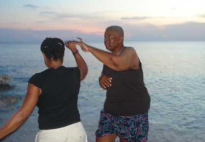 Frank & Ronna Dancing on the Beach